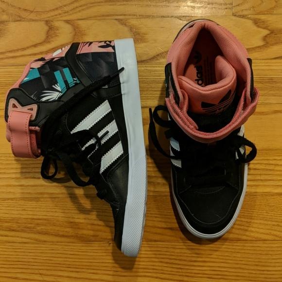 brand new fdd1e 79c6c adidas Shoes - NWOT ADIDAS originals AMBERLIGHT UP SNEAKER WEDGES